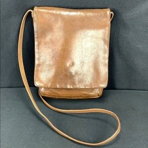Vintage Julia Duseu Leather Cross Body Handbag